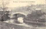 14 LISIEUX - La Touques Au Pont Du Petit-Malheur - Lisieux