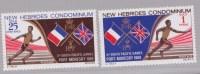Nouvelles-Hébrides N ° 284-285**   Neuf Sans Charniere  Jeux Sportifs Légende Anglaise - Légende Anglaise