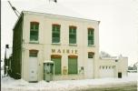 MONCHEAUX  - LA MAIRIE N° 3    -VILLAGES DU NORD SOUS LA NEIGE FEVRIER  2003 - France