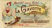 ETIQUETTE APERITIF LA GAVOTTE.  ALBI - Publicités