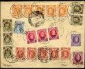 Super Lettre  Affranchissement à 3F50 Vers Genova  2 Juillet 1927 - 1922-1927 Houyoux