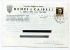 CARTOLINA FORMATO GRANDE PUBBLICITA PASTIFICIO RENZI E CASELLI SAN BENEDETTO DEL TRONTO ASCOLI PICENO ANNO 1936 - Ascoli Piceno