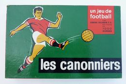 JEU DE SOCIETE LES CANNONIERS 1965 DUJARDIN FOOTBALL