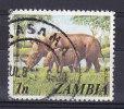 Zambia 1975 Mi. 141    1 N Spitzmaulnashorn Rhinoceros - Zambia (1965-...)