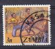 Zambia 1975 Mi. 143    3 N Nationaltanzgruppe - Zambia (1965-...)