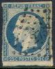 # France 11b, Used, Dark Blue, Blueish,sound, Bright, . (fr011-1 , [16GT - 1852 Louis-Napoleon