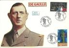 """CDG 42 """" Inauguration Du Monument 1890-1970 Charles De GAULLE""""  93 - PAVILLONS S/ BOIS - De Gaulle (Général)"""