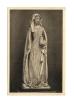 Cp, Sculptures, Eglise De Montluçon, Fragment De La Statue De Sainte Madeleine, Voyagée 1953 - Sculptures
