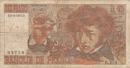 BILLET DE FRANCE, 7 Aout 1975,10 FRANCS , BERLIOZ,signature JJ TRONCHE - 1962-1997 ''Francs''