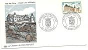 1969 - Francia 1596 Castello Di Hautefort FDC, - FDC