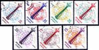 Haïti : 19-11-1962 (OBL)  Mich : 728-734  Yv : 493-496 + PA 258-260 - Haïti
