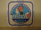 SB69. Brouwerij Martens. SEZOENS Bocholt. Bier Voor Leekerbekken - Sous-bocks
