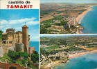 "TARRAGONA.  Castillo De TAMARIT Y ""Camping Tamaris"". - Tarragona"