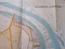 Carte : Villeneuve La Garenne, 1/5000 (70x70 Cm) - Other