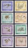 Lot De 8 Timbres-poste Gommés Neufs** - Série Courante Fleurs Et Plantes Du Désert - N° 967 à 974 (Yvert) - Koweït 1983 - Kuwait