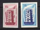 FRANCE non dentel� N� 1076 & 1077 **