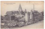 18742 Villotte Devant Louppy (meuse France) église Et Les Ruines éd ?  Guerre 1914-17. Soldat - Guerre 1914-18