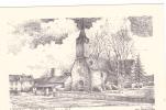 18751 Saint Medard Sur Ille, Dessin De Ducourtioux . 35166 Eglise - France