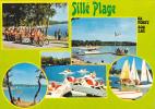 18763 Sille Plage, Sa Foret Son Lac.  C72.334.00.5.4374 Cim- Multivues/ Pedalo - France