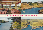 18768 Belle-Ile-en-Mer. Manoir De Goulphar. Hôtel NN°°°.... Multivues. CAP - Belle Ile En Mer