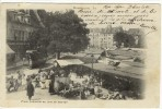 Carte Postale Ancienne Besançon - La Place Labourée Un Jour De Marché - Commerces, Tramway Pp - Besancon