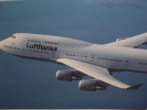 132  LUFTHANSA AIRLINES AVION   POSTCARD   OTHERS SIMILAR IN MY STORE - 1946-....: Moderne