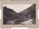 VALLE D´AOSTA  - Valsavarenche Eaux Rousses - Foto Cartonata  Documentata Al Retro 1908 - Aosta