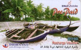 *IS. MALDIVE* - Scheda Usata - Maldiven