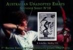 AUSTRALIAN UNADOPTED ESSAY ** MNH - 1962 BRITISH EMPIRE GAMES IN PERTH  ARCHERY (Archer) - FACSIMILE - QUALITY *LUXE * - Tiro Al Arco
