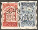 Switzerland 1924 Mi# 192-193 A Used - Perf. 11 1/2 - Suisse