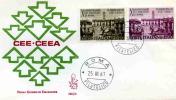 FDC VENETIA 1967 TRATTATI DI ROMA - 6. 1946-.. Repubblica