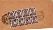 1948 LETTERA INDIA - 1947-49 Dominio Británico