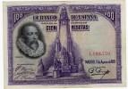 1928 100 Pesetas - 100 Pesetas