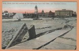 1906 Earthquake San Francisco California Tremblement  Terre ( Street Crackeed) Postcard Catastrophe Carte Postale CPA - Histoire