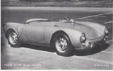 Porche Spyder 1950s/60s German Sports Car,  Arcade Type Card - Car Racing - F1