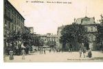 84- CARPENTRAS -  Place De La Mairie -côté Sud - Cpa  Animée -écrite 1911-Edit Nlles Galeries N° 18-Paypal Sans Frais - Carpentras