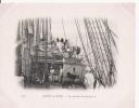 SCENE DE BORD 158 LES POMMES DE TERRE AU SEC  (BATEAU DUGUAY TROUIN) 1903 - Segelboote