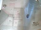 GEOMETRA DI SAN DONNINO PARMA PIACENZA Prospetto Abitazioini Modifiche MARCA BOLLO LIRE 2 + LIRE 3  1927  Carta LudaC146 - Disegno Tecnico