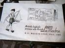 MODELLO  TAGLIATO  VESTITO BAMBINO  Annesso Rivista  LA MADRE  Carta VELINA 1956 C175 - Passatempi Creativi