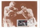D03908 CARTE MAXIMUM CARD TRIPLE 1991 FRANCE - BOXING CP ORIGINAL - Boxing