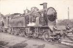TRAIN LOCOMOTIVE A VAPEUR 232 B T 39 ( CHEMIN DE FER RAIL )  TRES BON ETAT  ! ! ! - Trains