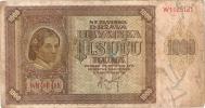 Croatia 1000 Kuna 1941.  P-4 - Croatie