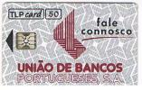 PORTOGALLO (PORTUGAL) -  TLP  (CHIP) -  1992   UNIAO DE BANCOS PORTUGUESES - USED -  RIF. 4199 - Portogallo