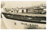 ALGARVE - FARO - QUARTEIRA - Frota De Pesca (Ed. Junta Turismo Da Praia De Quarteira, Nº10) Carte Postale - Faro