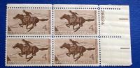 USA 1960 PONY EXPRESS  BLOCK MNH** - Blocchi & Foglietti