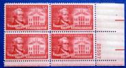 USA 1957 ALEXANDER HAMILTON  BLOCK MNH** - Blocchi & Foglietti