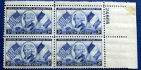 USA 1952 ARRIVAL LAFAYETTE IN AMERICA  BLOCK MNH** - Blocchi & Foglietti