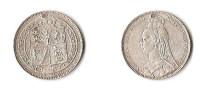 GRANDE - BRETAGNE  1 SHILLING 1889    VICTORIA  ARGENT - 1816-1901 : Frappes XIX° S.