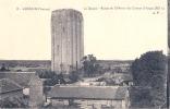 LOUDUN Le Donjon Restes Du Château Des Comtes D'Anjou écrite 1928 TTB - Loudun