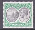Dominica 65   **   Wmk 4  Script CA - Dominica (...-1978)